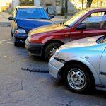 3 car accident