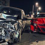 Night car accident