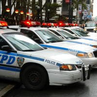 nypd police cars